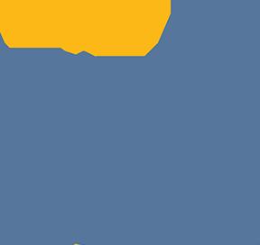 Crowned Blue Weasel Finji Logo